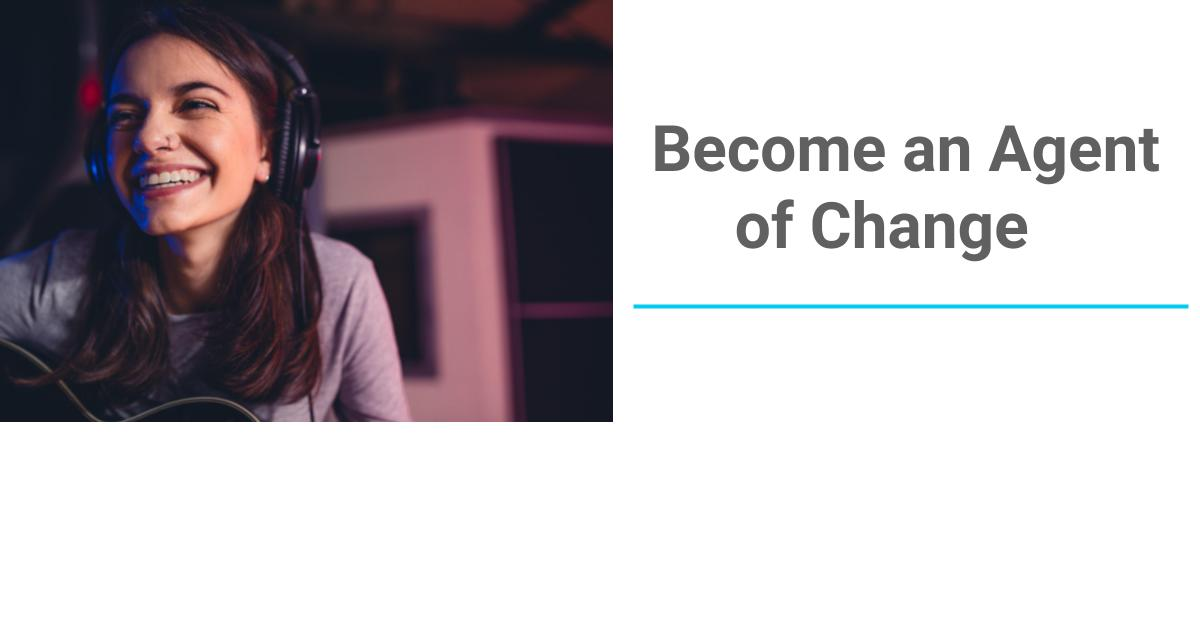 Be an Agent of Change for Arts and Culture